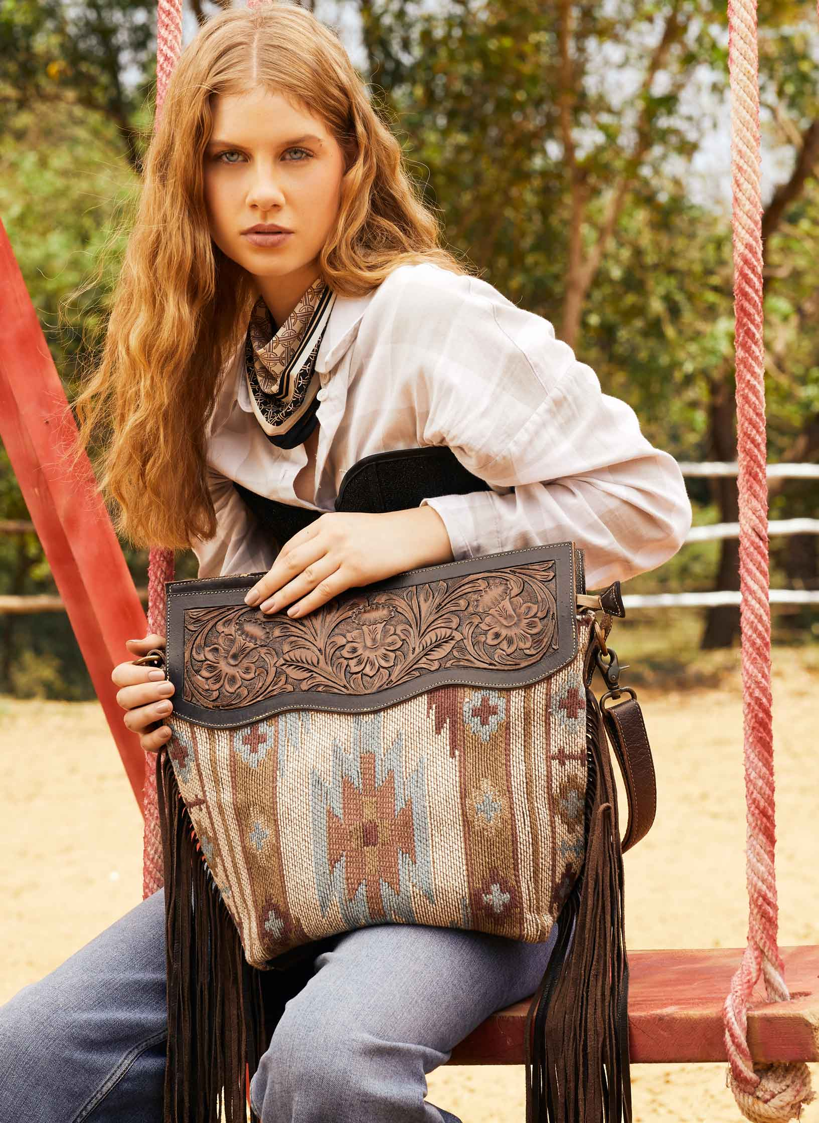 Hand-Tooled Bags