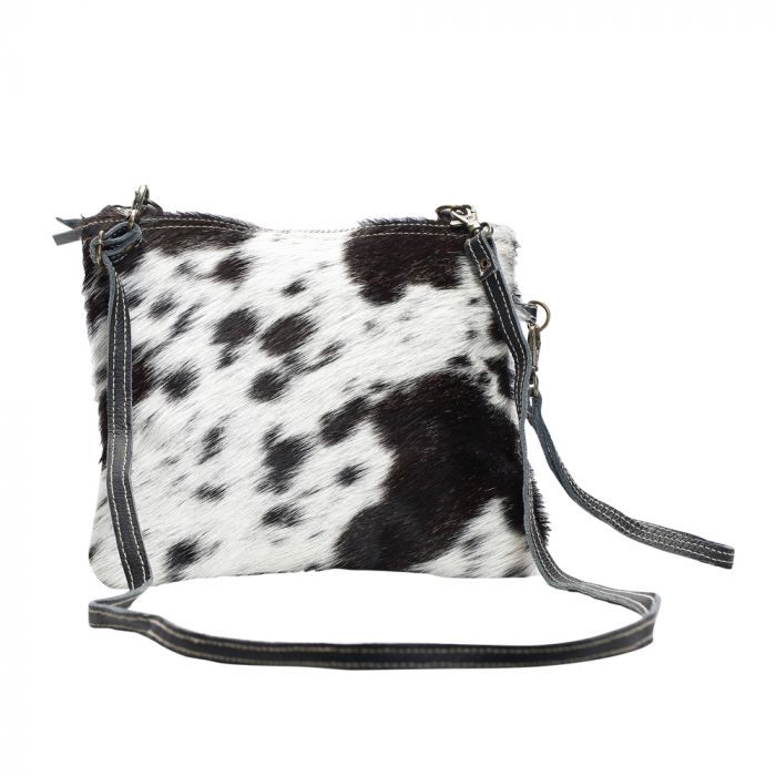 WHITE AND BLACK SHADE BAG
