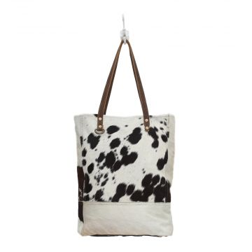 Black & White Impression hairon bag