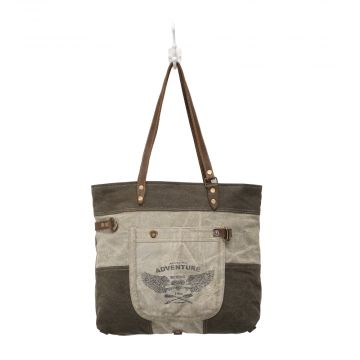 Adventure Begins Canvas Tote Bag