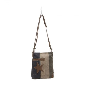 """STAR ON DENIM"" SHOULDER BAG"