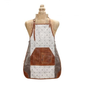 FERRIS WHEEL CANVAS APRON