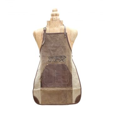 """USA"" PRINT CANVAS APRON"