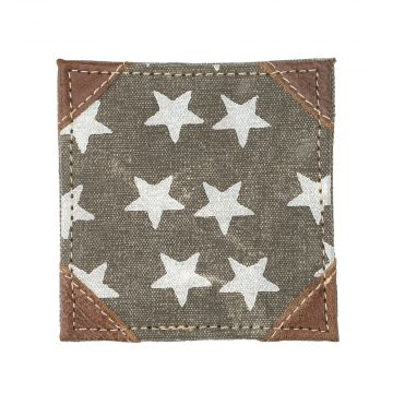 """FREEDOM OF STAR"" COASTER SET OF 4 PCS"