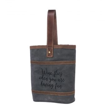 WINE FLIES DOUBLE WINE BAG