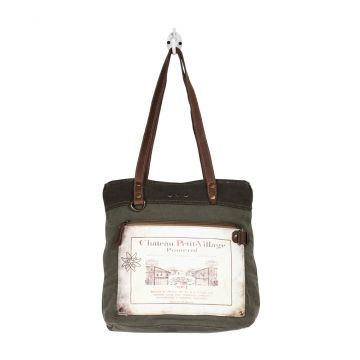 CHATEAU PETIT VILLAGE  TOTE  BAG