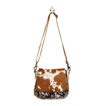 FLAP OVER HAIRON SMALL & CROSS BODY BAG