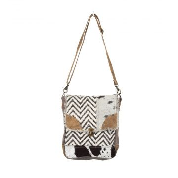 Rug & Patches Design shoulder bag