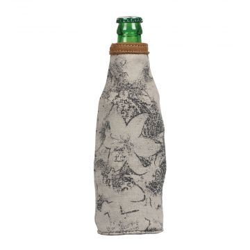 FLOWER TAPESTY BOTTLE PINT HOLDER