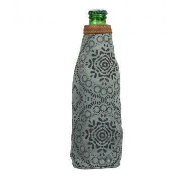 OLIVE COLORED BOTTLE PINT HOLDER