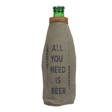 ALL YOU NEED IS BEER BOTTLE PINT HOLDER