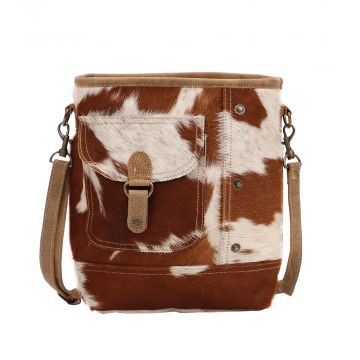 NUT BROWN SHOULDER BAG
