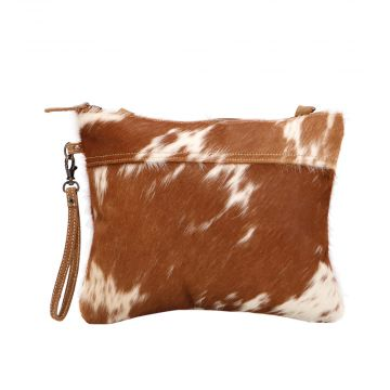 IVORY & DRAB HAIRON SMALL & CROSSBODY