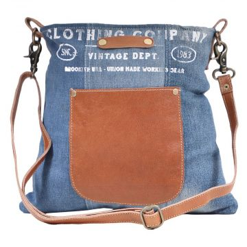 BROOKLYN DENIM SHOULDER BAG
