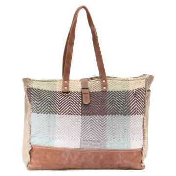 COLOR CHUNK WEEKENDER BAG