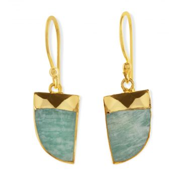 TURQUOISE RAY DROP EARRINGS