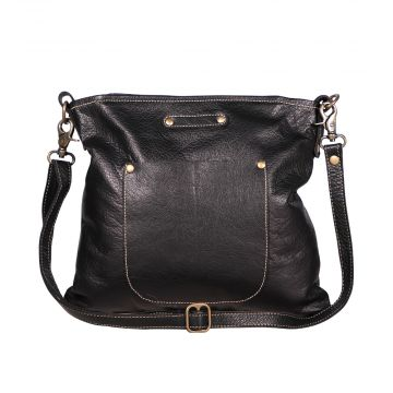 Cozy Mozy Leather Bag