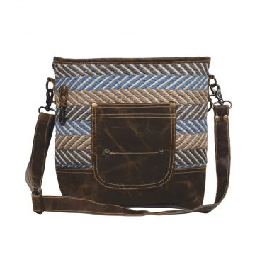 Criss- Cross Shoulder Bag