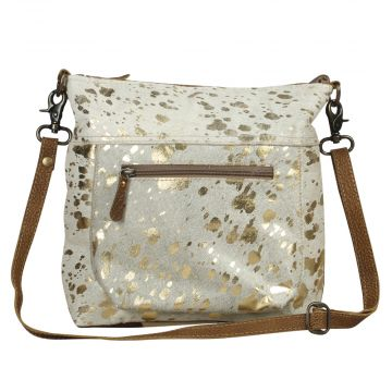 Glaze Leather  Shoulder Bag