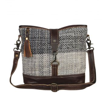 Rough textured  Shoulder Bag