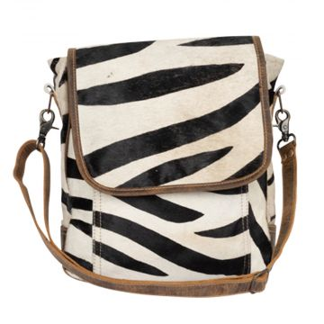 Strippy Wonder Hairon Shoulder Bag