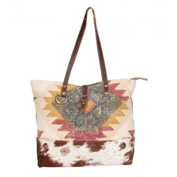 Orangy Blush Tote Bag