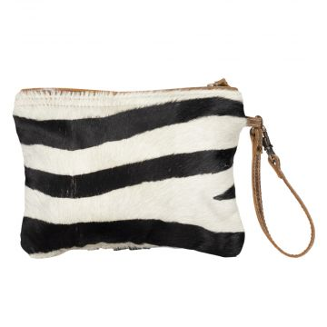 White Wilderness  Hairon Pouch