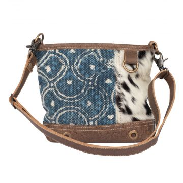 Indigo Illusions  Shoulder Bag