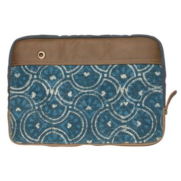 Circles of Illusion Laptop Sleeve