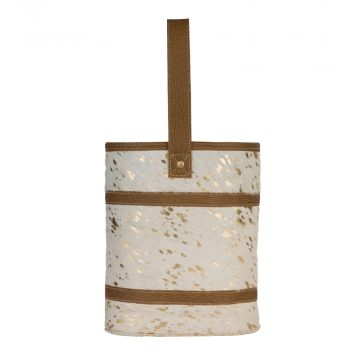 Inebirated Ivory Wine Bag
