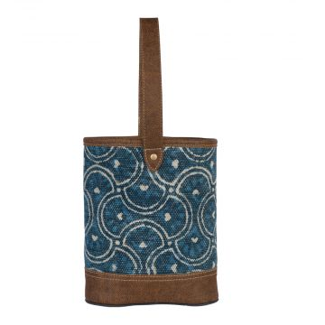 Cool Blue Wine Bag