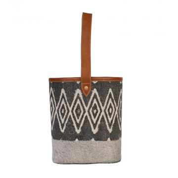 Edgy Imprints Wine Bag