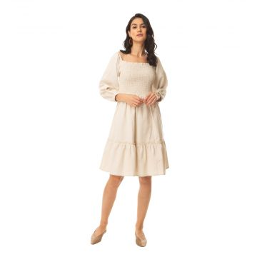 Desert storm Smocking Dress
