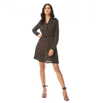 Jaggy Delicate print Dress