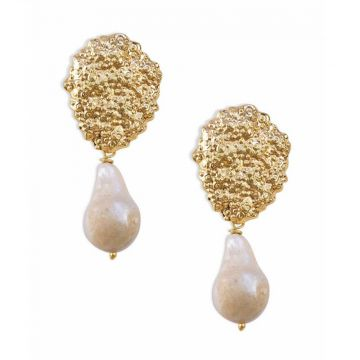 Arctic Pearl Earring