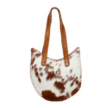 FOREVER YOUNG LEATHER AND HAIRON BAG