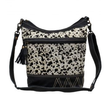 YOUTHFUL                                         LEATHER AND HAIRON BAG