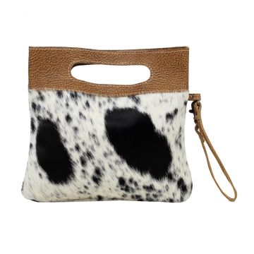 ENERGETIC  LEATHER AND HAIRON BAG