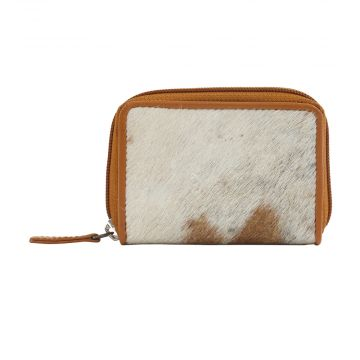 DECLARED WINNER LEATHER AND HAIRON WALLET