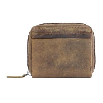 TEEN CRUSH LEATHER AND HAIRON WALLET