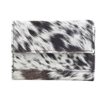 PANDA SWAG LEATHER AND HAIRON WALLET