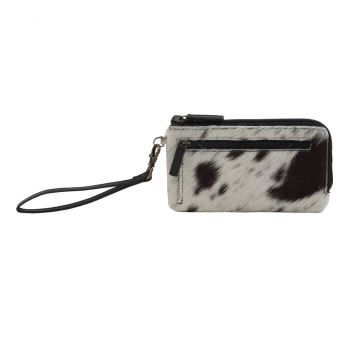 SILKY SLAYE  LEATHER AND HAIRON WALLET