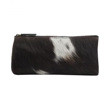 SILKY SLAYER  LEATHER AND HAIRON MULTI-POUCH