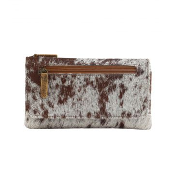 WILDFIRE LEATHER AND HAIRON WALLET