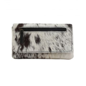 COOKIE CRUNCH LEATHER AND HAIRON WALLET