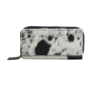 DALMATIANS LEATHER AND HAIRON WALLET