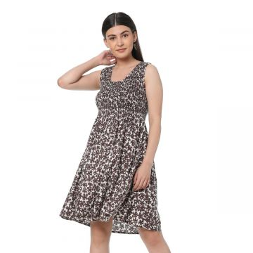 Voguish Printed Dress