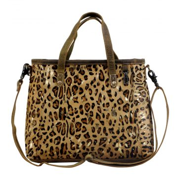 Fearless Leather & Hairon Bag