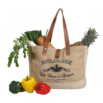 Wholesome  Organic Fabric  Market Bag