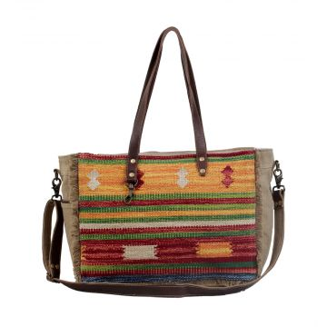 Technicolor Weekender Bag